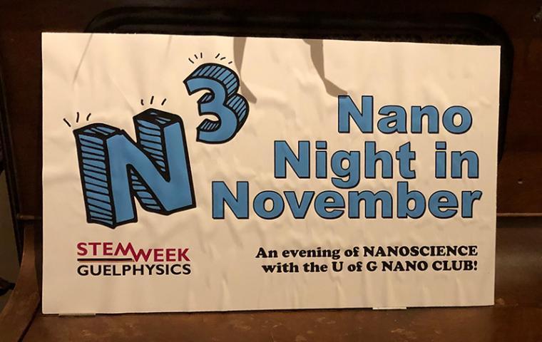Nano Night in November Sign
