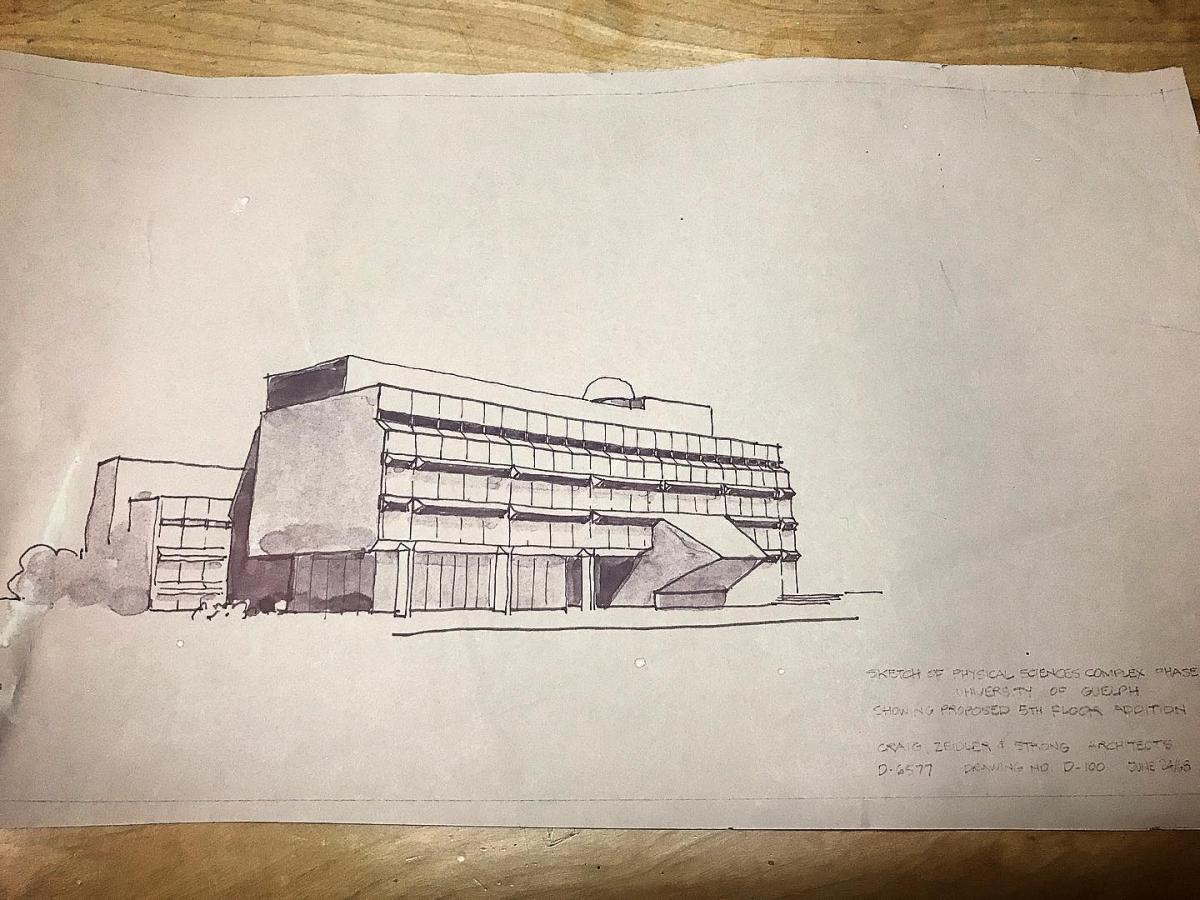 MacNaughton Building concept sketch