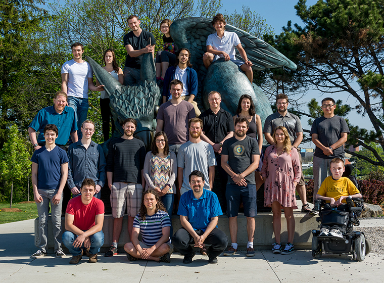Nuclear Physics Group Photo 2016